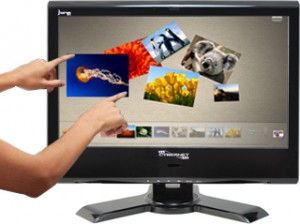 Cybernet iOne-H5 widescreen multi-touch