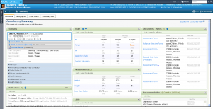 Cerner EMR screen shot