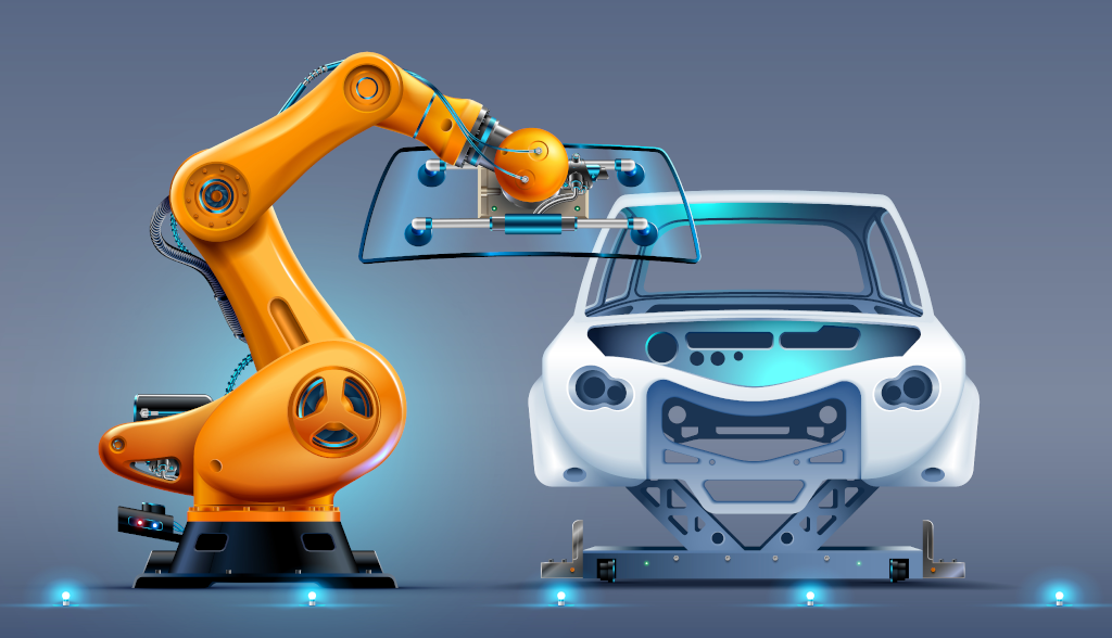 The Use of Industrial Computers in the Automotive Industry - Cybernet Blog