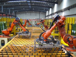 Industrial tablets can help with automating the warehouse.