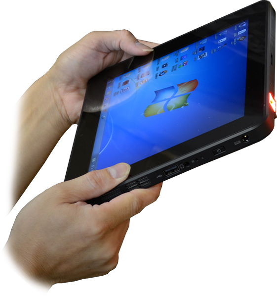 T10C Tablet with Barcode Scanner