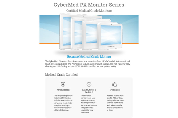 CyberMed PX Monitors