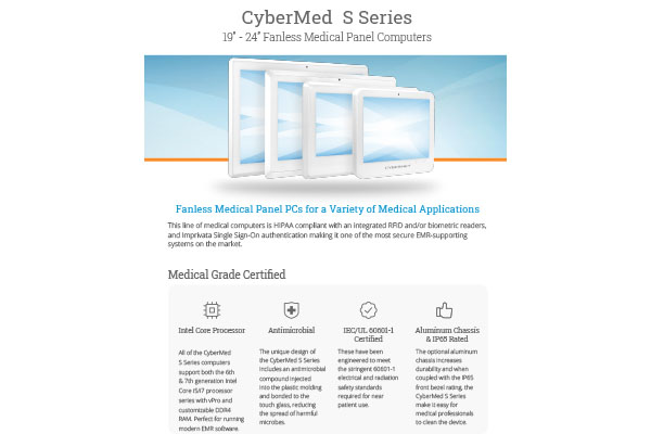 CyberMed S Series