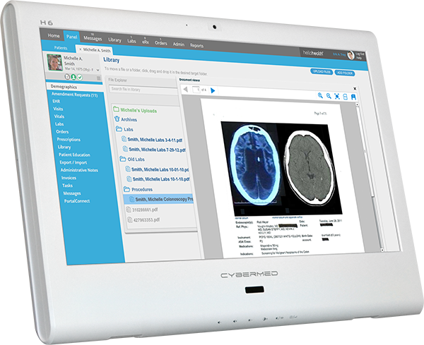 Medical Grade All in One for Patient Infotainment