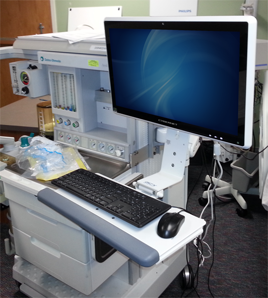 Anesthesia Medical Computer