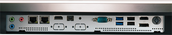 Fanless Panel PC Customized Ports