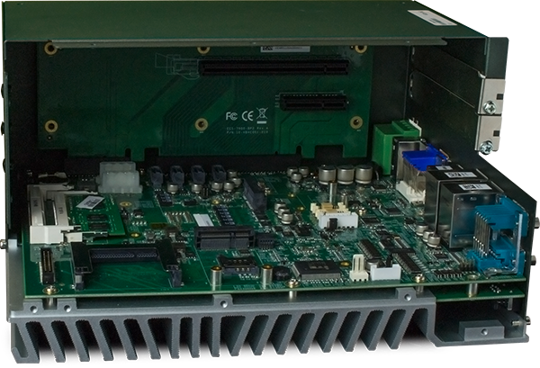 iPC R1ix Inside with PCIe Card