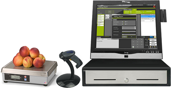 Point Of Sale Computer System Ipos H19 Cybernet