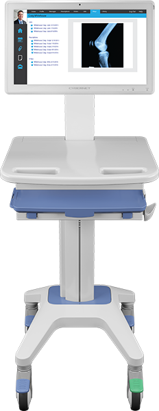 Adjustable All-In-One Hospital Cart