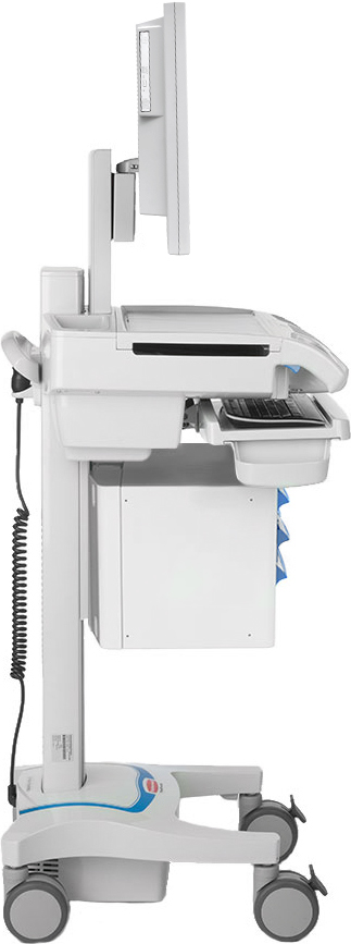 Carelink DC RX LCD Mobile Nurse Station