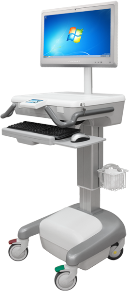 Induction Charging Medical Cart