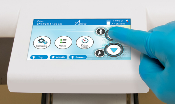 Medical Cart User Interface