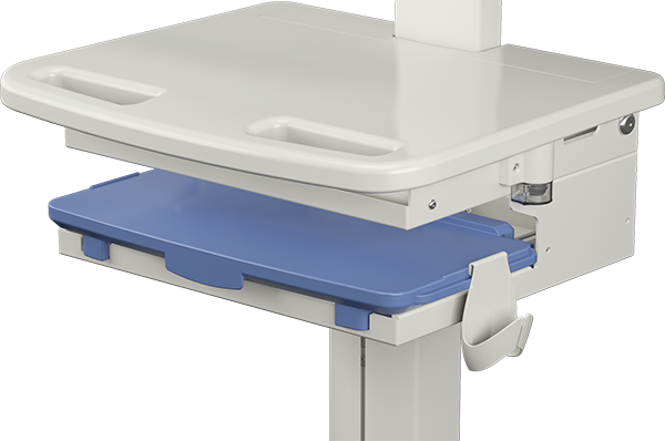 Secure All-In-One Hospital Cart