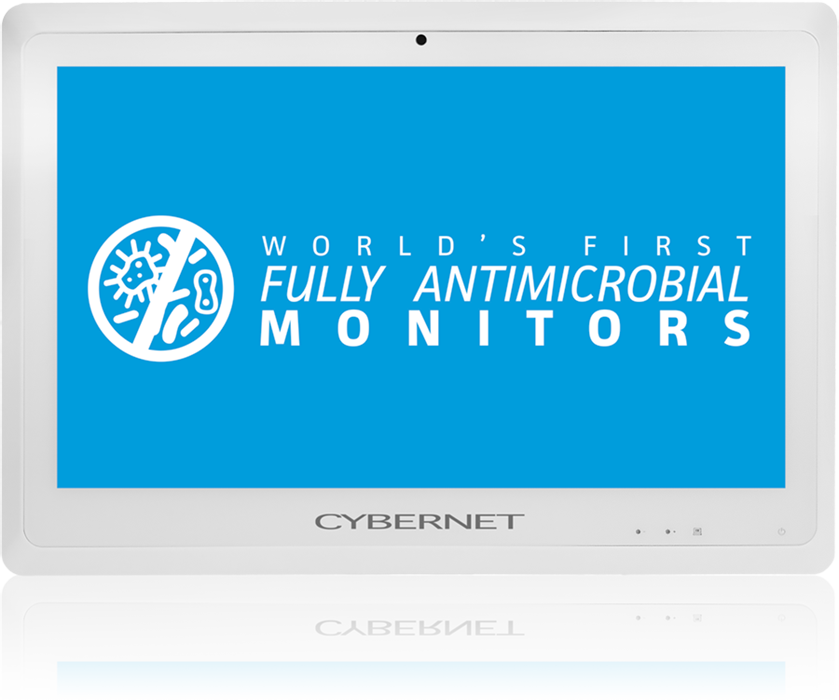 CyberMed 4k Series Monitors with Fully Antimicrobial Housing