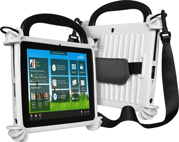 T10C Windows Business Tablet with Carrying Strap