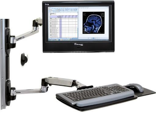 Keyboard Arm Mount All In One Pc All In One Medical Computer