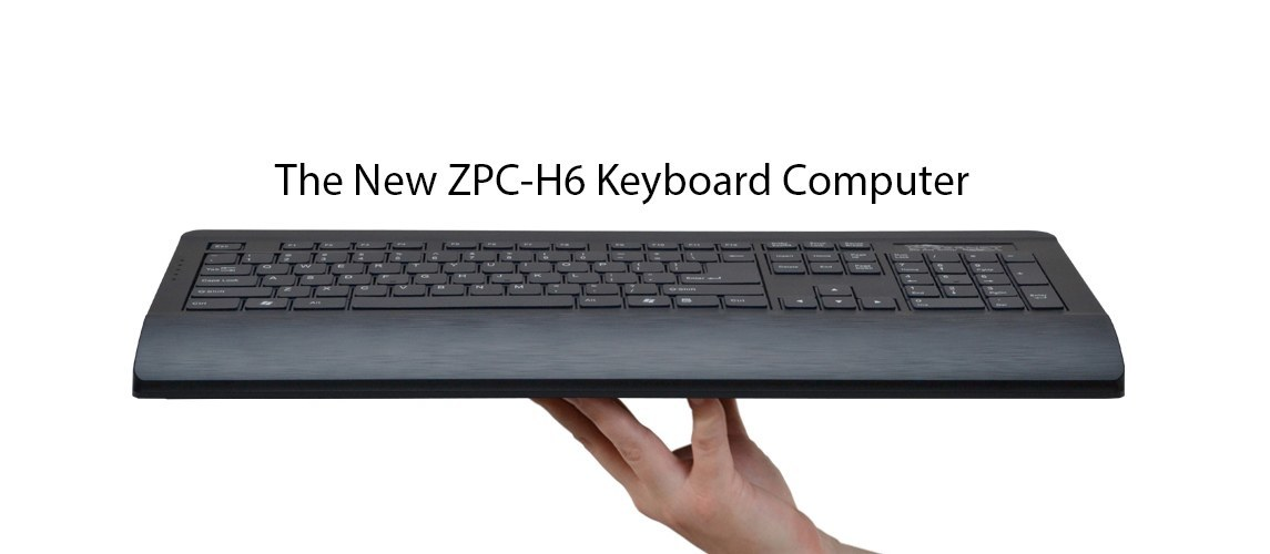 e46c7306567 ZPC-H6 All-in-One Keyboard PC